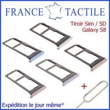 Tiroir Sim Carte Micro SD Mémoire Samsung Galaxy S8 SM-G950 950F + Ejecteur