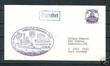 BRD 1983 - Seapost - Fregatte Bremen F207
