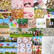 106 Styles 1:12 Dollhouse Scenes Miniature Food Dessert Home Kitchen Accessory