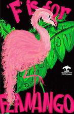 93976 Pittsburgh Pennsylvania Zoo F Flamingo United Decor WALL PRINT POSTER FR