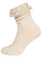 Schuhmacher Socke mit Spitze CS530 natur