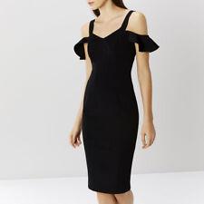 NUOVO costa Jemmy Nero BARDOT Shift Dress Sz UK 6
