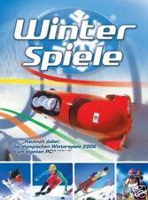 WINTERSPIELE Bob Rodeln Biathlon skispringen ++Neuwertig