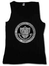 MISKATONIC UNIVERSITY IV DAMEN TANK TOP Lovecraft HP Sign Cthulhu Symbol Logo