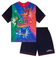 PJ Masks Short Pyjamas PJ MASKS Pyjama Set Kids Pj PJs 3 to 7 Years