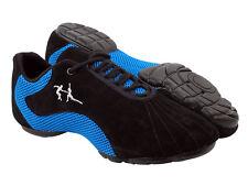 Latin Salsa Very Fine Dance Ballroom  Men's Sneaker Shoe VFSN016 Blue