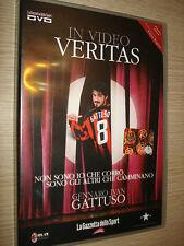 DVD GENNARO IVAN GATTUSO IN VIDEO VERITAS AC MILAN NON SONO IO CHE CORRO RINO