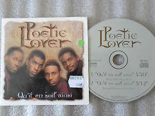 CD-POETIC LOVER_QU'IL EN SOIT AINSI-GARRY KANI/LITTLE T/DRE-(CD SINGLE)97-2TRACK