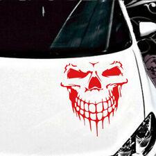 Reflective Skull Car Sticker Styling Removable Waterproof Car Sticker Decoration