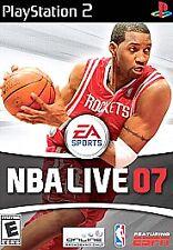 NBA Live 07 (Sony PlayStation 2, 2006)