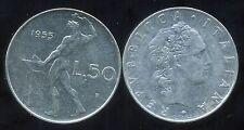 ITALIE   ITALY   50 lire 1955
