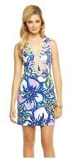 Lilly Pulitzer Janice Knit Shift Dress - Spectrum Blue Catwalk (MSRP $188)