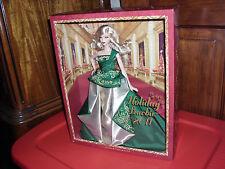 Holiday Barbie NRFB 2011 Mattel Christmas #T7914