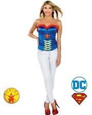 RD 887502 Ladies Costume Fancy DC Comics Licensed Supergirl Superwoman Corset
