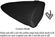 Fibra De Carbono Vinilo Personalizada Para Kawasaki Ninja Zx6r 07-08 necesidades cubierta de asiento