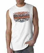 Broncos Tattoo Tribal Denver T-shirt Sleeveless White S MED LG XL 2XL NEW