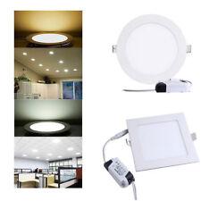 LED Panel Einbaustrahler Wandleuchte Ultraslim Deckenleuchte Einbau Spot + Trafo