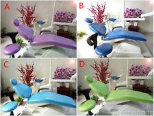 Dental Unit Chair Cover Sleeves Protector Waterproof PU Headrest Dentist Stool