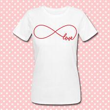 T-shirt donna Love Infinity, simbolo infinito, amore, idea regalo san valentino!
