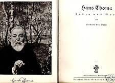Hans Thoma--Leben und Werk-Buch von 1935 --
