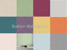 Arthouse Plain Woven Linen Texture Coloured Wallpaper