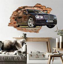 3D Luxury Cars 012 Wall Murals Stickers Decal breakthrough AJ WALLPAPER CA