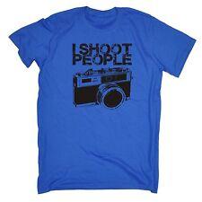 I Shoot People Camera T-shirt Photography Film Photo type Funny Birthday Poison