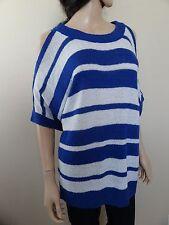 2b Bebe Sweater Striped Knit Women's Top