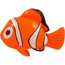 Inflable Pez Payaso Nemo Naranja volar Océano Juguete Jugar Piscina Dory peces