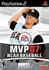 MVP 07 NCAA Baseball (Sony PlayStation 2, 2007) -New