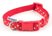 Ancol Vintage Polka Dog/Puppy Collar Red