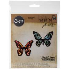 Sizzix Thinlits Dies By Tim Holtz 4/Pkg-Mini Detailed Butterflies