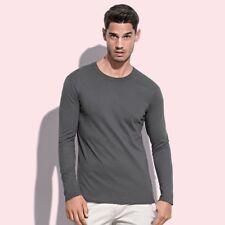 T-Shirt ST9040 STEDMAN Uomo MORGAN LONG SLEEVE 100%C