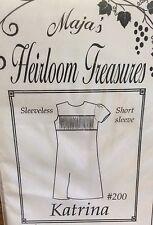 MAJA'S HEIRLOOM TREASURES PATTERN #200 KATRINA- SIZES 3,4,5 & 6--7,8 & 10