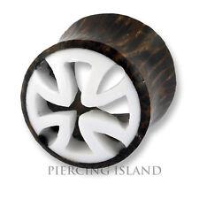 6mm - 22mm HOLZ Knochen Wood Bone Flesh Tunnel Tube Ear Plug Ohr Piercing 292