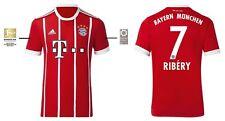 Trikot Adidas FC Bayern München 2017-2018 Home BL - Ribery 7 [128 bis 3XL] FCB