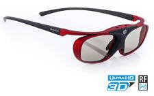 Hi-SHOCK® RF Pro 3D Shutter Brille Scarlet Heaven für Sony JVC EPSON HD Beamer