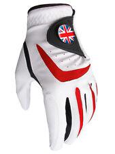 Tutte le condizioni atmosferiche Union Jack Guanto Da Golf Bianco/Rosso Bianco/Rosso Asbri