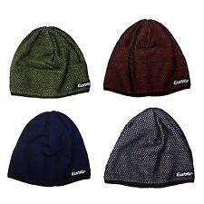 Eisbär Damen Herren Unisex Winter Strickmütze Wintermütze zweifarbig Mütze