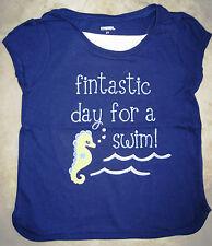 NWT Gymboree Greek Isle Style Fintastic Day For a Swim Seahorse Tee  U Pick NEW
