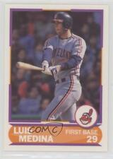 1989 Score Factory Set Young Superstars II 26 Luis Medina Cleveland Indians Card