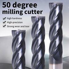 Tungsten Steel Endmill Cutting Milling Cutter 4 Flute Mill Machine Tools