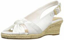 Bella Vita Womens Seraphina II Fabric Open Toe Casual Espadrille Sandals