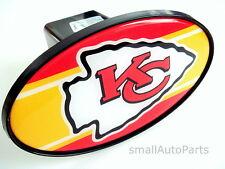 """KANSAS CITY CHIEFS NFL TOW HITCH COVER car/truck/suv trailer 2"""" receiver plug"""