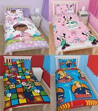 DISNEY Personaggi TV Bambine Per Bambini singolo piumino set di biancheria da letto con copripiumone disponibile in