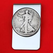 US 1916 ~ 1947 Walking Liberty Half Dollar 90% Silver Coin Money Clip NEW