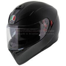 AGV K3 SV Matt Black Motorcycle Helmet, Pinlock, Fast 'N Free Shipping