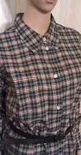 Sportliche Damen Bluse  Damenbluse Karobluse  Baumwolle  Gr.46 NEU OVP