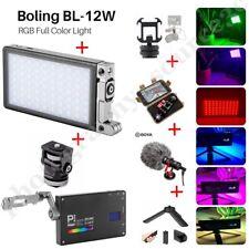 Boling P1 RGB Led Video Light 2500k-8500k Bi-Color On Camera Continuous LightKIT