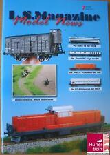 Ls Models Magazine 7 abril 2011 SNCB 18/SNCF ocem +bb16500/DB turista D/F/NL